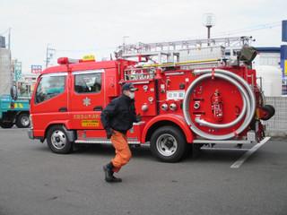 消防訓練をしました~(平成28年1月26日)